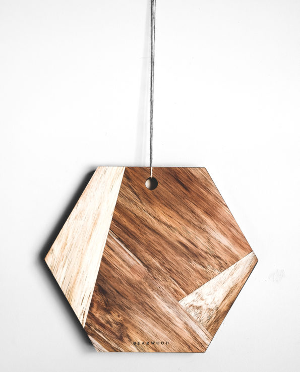 Hexagonal Chopping – Serving Board