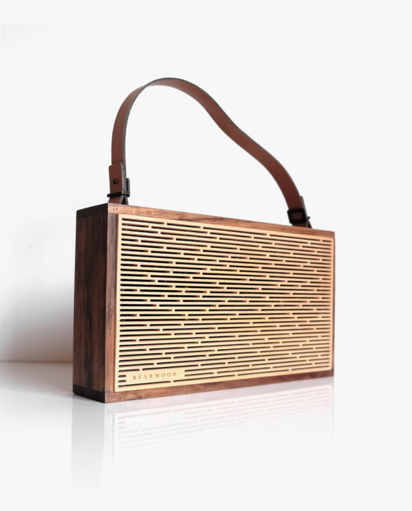 One Beat Two – Hand Made Portable Wooden Bluetooth Speaker
