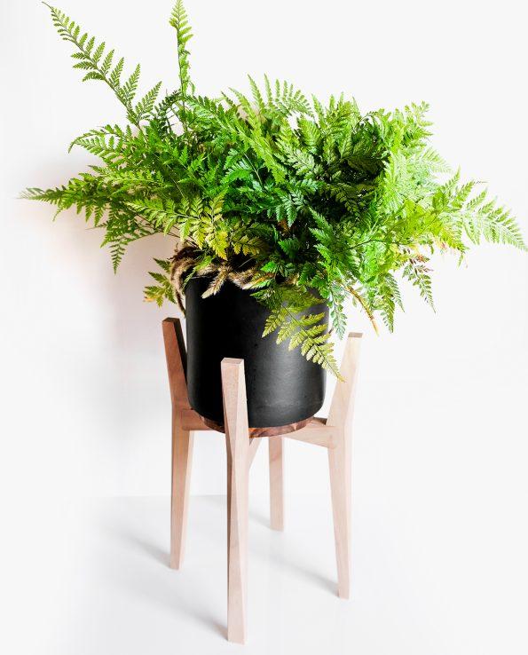 Chamfer Plant Pot Stand