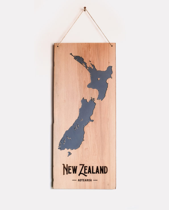 New Zealand Vintage Reclaimed Timber Carved Art Wall Hanging (Copy)