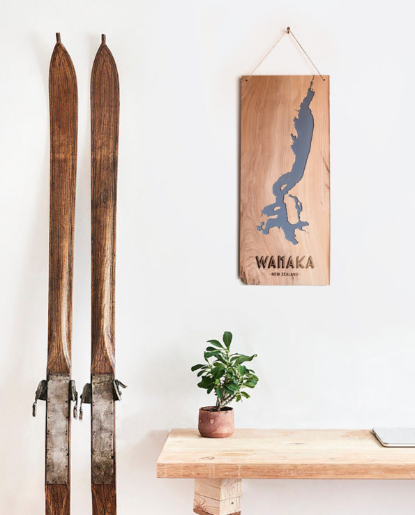 Lake Wanaka Art Wall Hanging